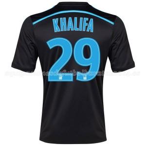 Camiseta nueva Marseille Khalifa Tercera 2014/2015
