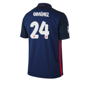 Camiseta del GIMENEZ Atletico Madrid Segunda Equipacion 2015/2016