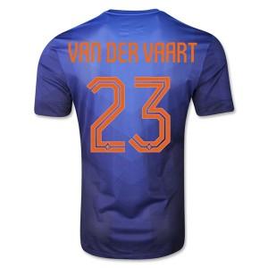 Camiseta del Van Der Vaart Holanda Segunda WC2014