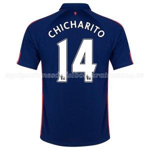 Camiseta nueva Manchester United Chicharito Tercera 2014/2015