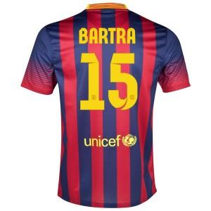 Camiseta nueva Barcelona Bartra Primera 2013/2014