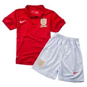 Camiseta nueva del Inglaterra de la Seleccion 2013/2014 Nino Segunda