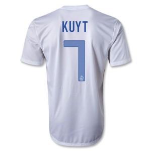 Camiseta de Holanda 2013/2014 Segunda Kuyt