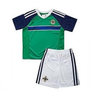 Camiseta nueva IRLANDA DEL NORTE Niños VERDE Primera 2016