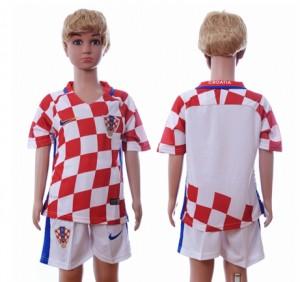 Niños Camiseta del Croacia Primera Segunda 2016