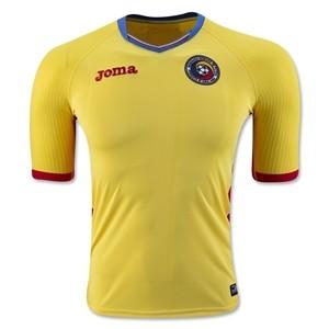 Camiseta nueva del Rumania 2016/2017 Home