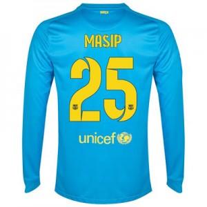 Camiseta Portero Barcelona Masip Segunda Equipacion 2014/2015
