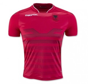 Camiseta nueva Albania Home 2016