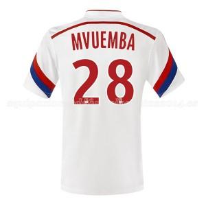 Camiseta nueva Lyon Mvuemba Primera 2014/2015