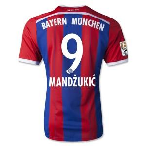 Camiseta Bayern Munich Mandzukic Primera Equipacion 2014/2015