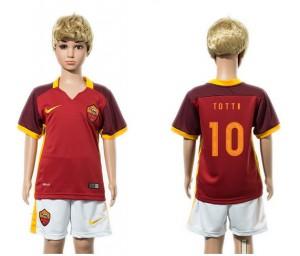 Camiseta nueva AS Roma Ni?os 10 2015/2016