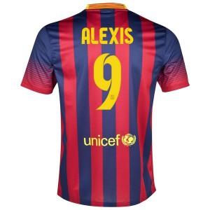Camiseta nueva del Barcelona 2013/2014 Alexis Primera
