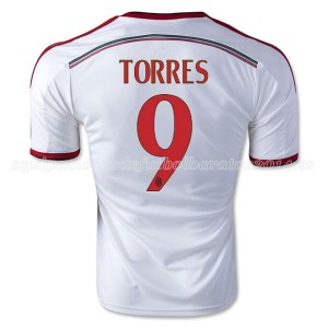 Camiseta de AC Milan 2014/2015 Segunda Torres Equipacion